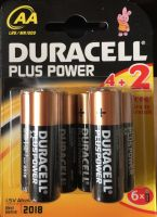 Duracell Plus Power AA 4+2