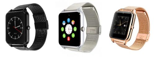 Smartwatch GT08 mit Metall-Armband