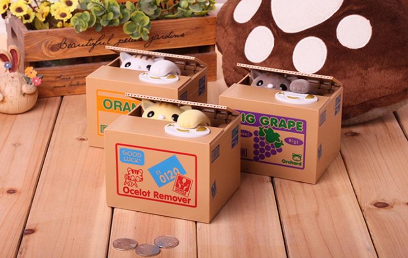 Katzenspardose Sie Holt Deine Münzen Preisparadies